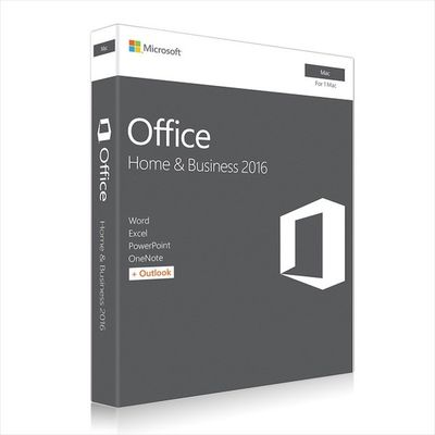 Çin Microsoft MAC Office 2016 Home and Business Web Download Directly Distribütör